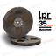 LPR35-RTM-Pyral-RMG-RMGI-cinta-carrete-a-carrete-de-1-4-034-X-1800-039-7-034-Plastico-Nuevo miniatura 1