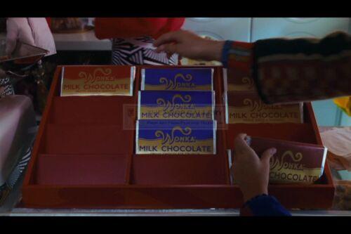 2005 Vintage Style Willy Wonka /& Chocolate Factory Replica Wonka Bar T3