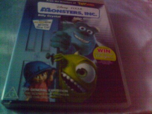 1 of 1 - MONSTERS, INC. 👾 Disney Pixar (2-Disc Set) Animated, Family, Children. VGC.