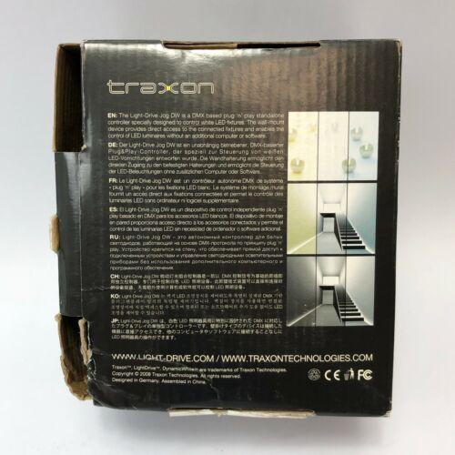 Traxon Light-Drive Jog Lighting Control Panel White NEW