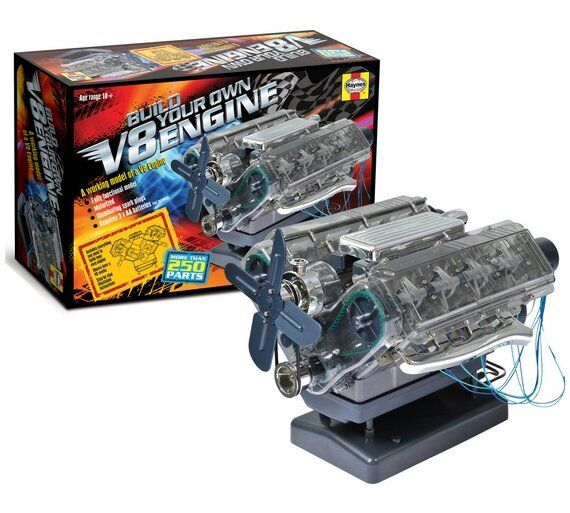 Build your own combustion engine petrol v8 Model Kit Birthday Gift