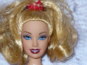 Mattel Barbie Doll MY SCENE Blonde Hair Blue Eyes Nude