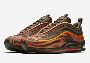 Details about Nike AIR MAX 97 ULTRA '17 918356 801 TOTAL ORANGESEQUOIA sz 8 13