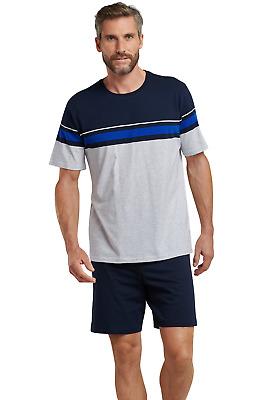 Details about  /Men/'s Pyjamas Long 100/% Cotton Size 48-62 Pyjama Long S-5XL Schiesser