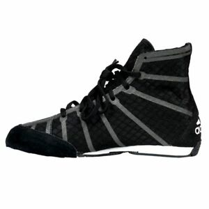 the best attitude f354e 465a6 Image is loading Adidas-Adizero-Wrestling-Shoes-Boxing-MMA-Shoes-Black-
