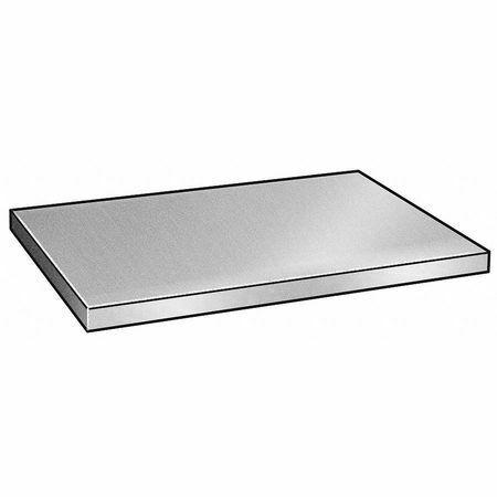 ZORO SELECT 8283 Aluminum Strip,0.016x 1 Wx 12 In