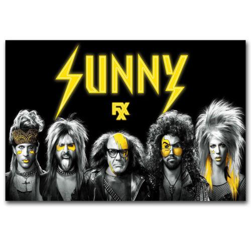 F1252 It/'s Always Sunny in Philadelphia Silk Poster 24x36 40In