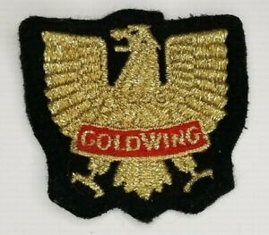 Honda-Gold-Wing-Patch-With-Eagle-Vintage