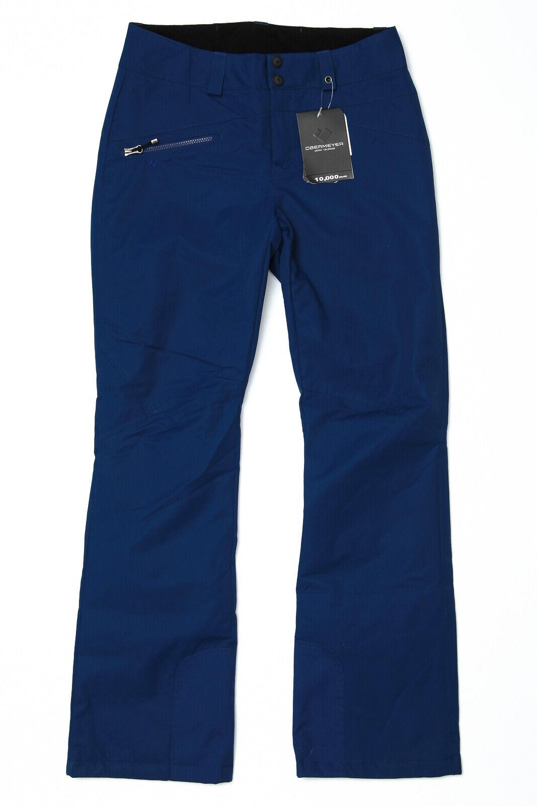 Obermeyer Malta Ski Snow Pants Dusk Blau - damen 8 Long