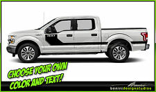 2014 2015 2016 Ford F-150 Side Hockey Stripes
