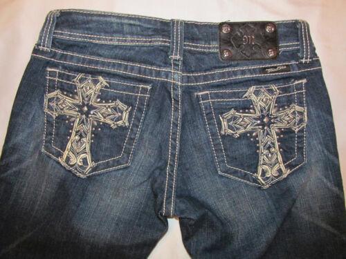 28 Jeans con a con Skinny croce cristalli Nwot Miss borchiati tasche Me Swarovski PxPWvSEnrw