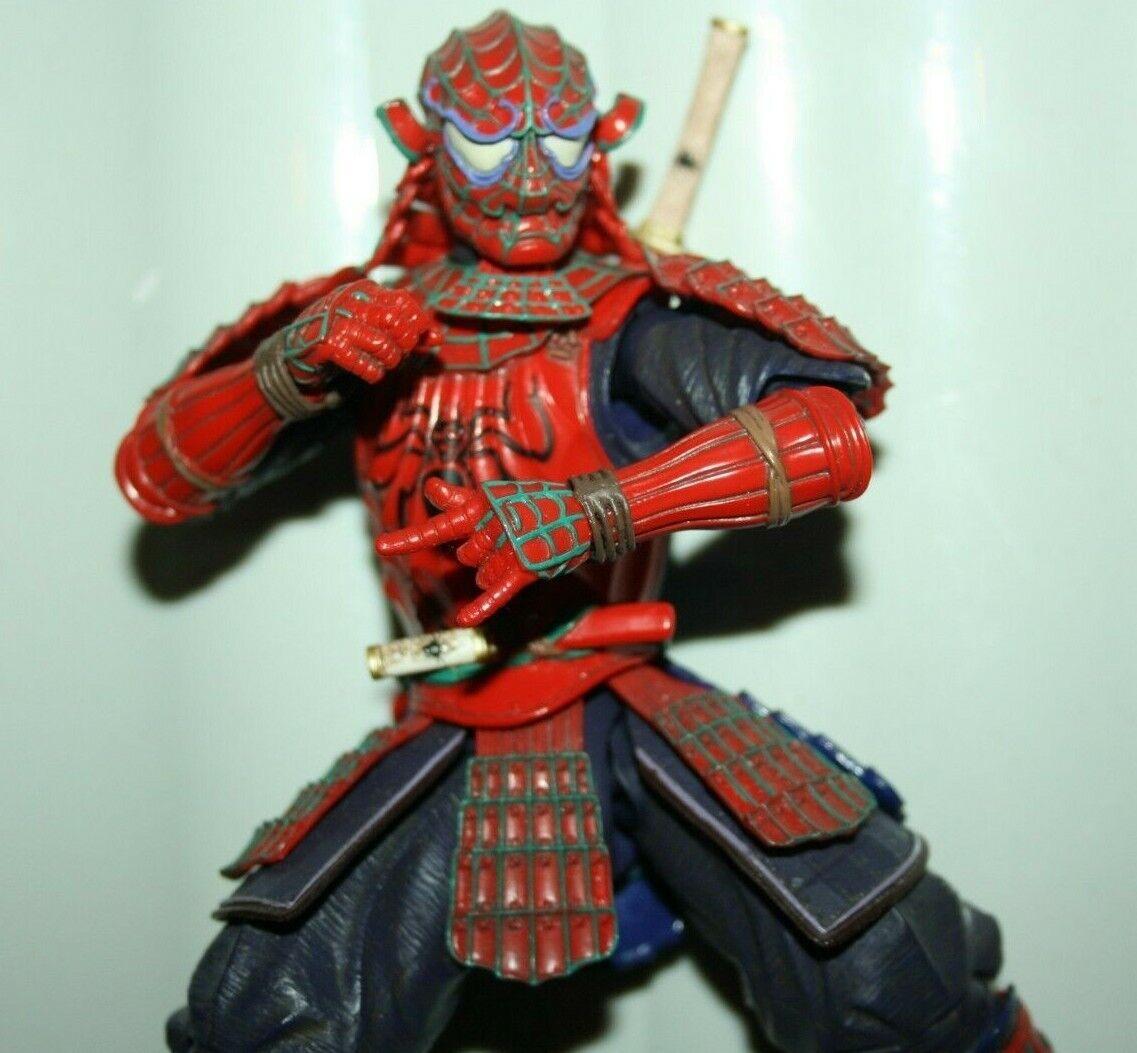 Manga realization spider-man authentic not marvel legends figuarts samurai war v