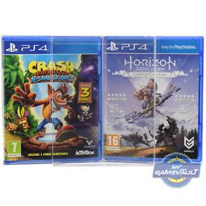 5 Boîte De Protections Pour Playstation Ps3/ps4 Jeu Solide En Plastique 0.4 Mm Display Case-afficher Le Titre D'origine