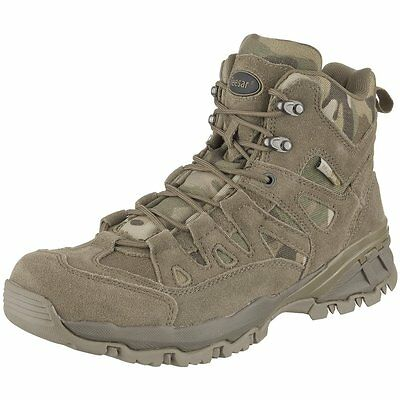 MULTICAM US TACTICAL BOOTS ARMY OUTDOOR BOOTS Squad 5 inch Size 43