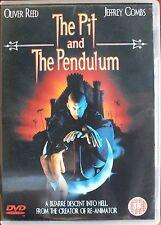 THE PIT AND THE PENDULUM. RONA DE RICCI. DVD. REGION 2. R18. VGC. UK DISPATCH
