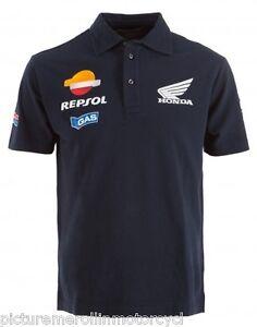 Repsol Honda Hrc Motogp Team Polo Shirt Blue Size L Dani Pedrosa