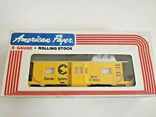 9400 American Flyer Chessie System Bay Window Caboose