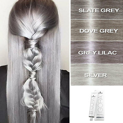 8b955bfd36 Details about Schwarzkopf Professional Igora Royal Absolutes Silverwhite  Hair Dye Color