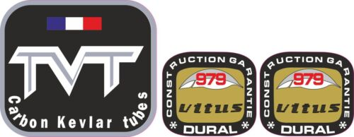 perfect for restorations TVT carbon tubing decal