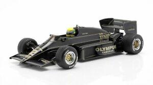 LOTUS 97T JPS F1 model car Ayrton Senna Winner Portugal GP 1985 1:18 IXO 18001