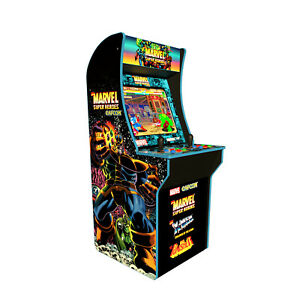 Marvel-Superheroes-Retro-Arcade-1UP-Machine-Arcade1UP-4ft-Video-Game-Cabinet