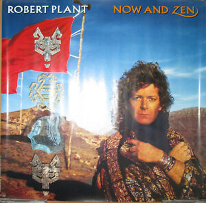 robert plant now and zen promotional poster 1988 24x24 ex led zeppelin ebay. Black Bedroom Furniture Sets. Home Design Ideas