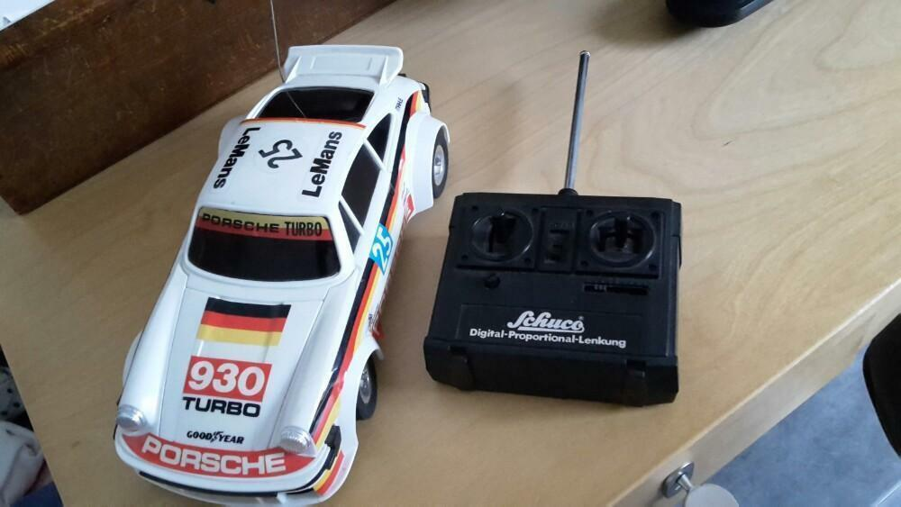 Schuco Rc Porsche Porsche Porsche Turbo 930  Good Working Condition  Very Good Condition  RARE 39ba68