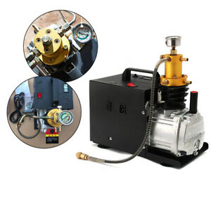 30MPA Compressor high-Pressure air Pump PCP Electric air Compressor with Pressure Gauge 1.8 KW