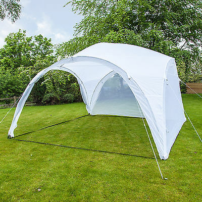 Event Shelter Gazebo Party Tent Marquee 4m x 4m with Side Panels