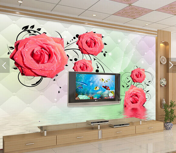 3D Beads Flower Plant 5579 Wall Paper Wall Print Decal Wall AJ WALLPAPER CA