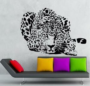 Image Is Loading Cheetah Crouching Vinyl Decal Wall Sticker Jungle Theme