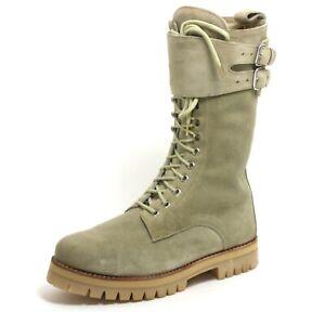 267 Bottes Cuir Lacets Désert Pays Trapper Army Chaussure pour Hommes Buffalo 44