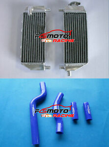 Blue Silicone Radiator Hose FOR Yamaha YZ250 YZ 250 YZ250X YZ250G 2002-2019 2012