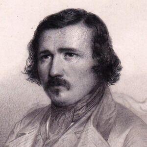 Portrait-XIXe-Pierre-Lachambeaudie-Chansonnier-Fabuliste-Ecrivain-Poete-Poesie