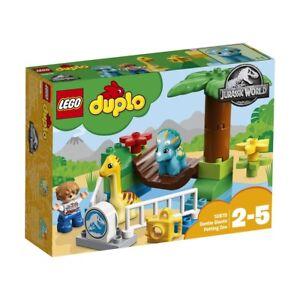 NEW-LEGO-DUPLO-JURASSIC-WORLD-GENTLE-GIANTS-PETTING-ZOO-10879