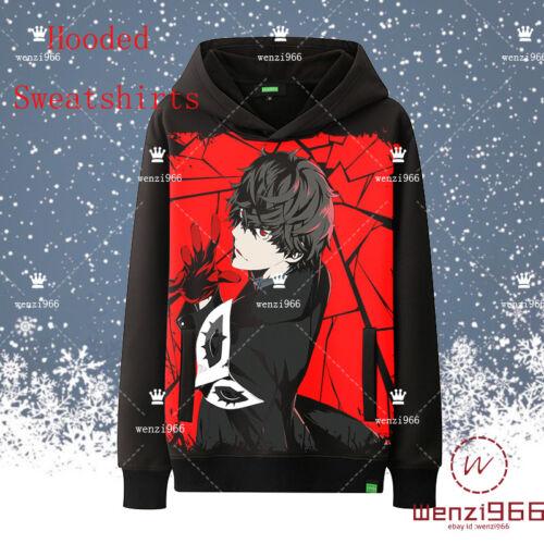 Game Persona 5 Casual Unisex Men/'s Unisex Sweater Sweatshirts Hoodie Coat #H25