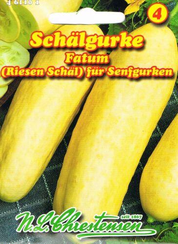 Schälgurke /'Fatum/'  für Senfgurken Gurken Samen 461101