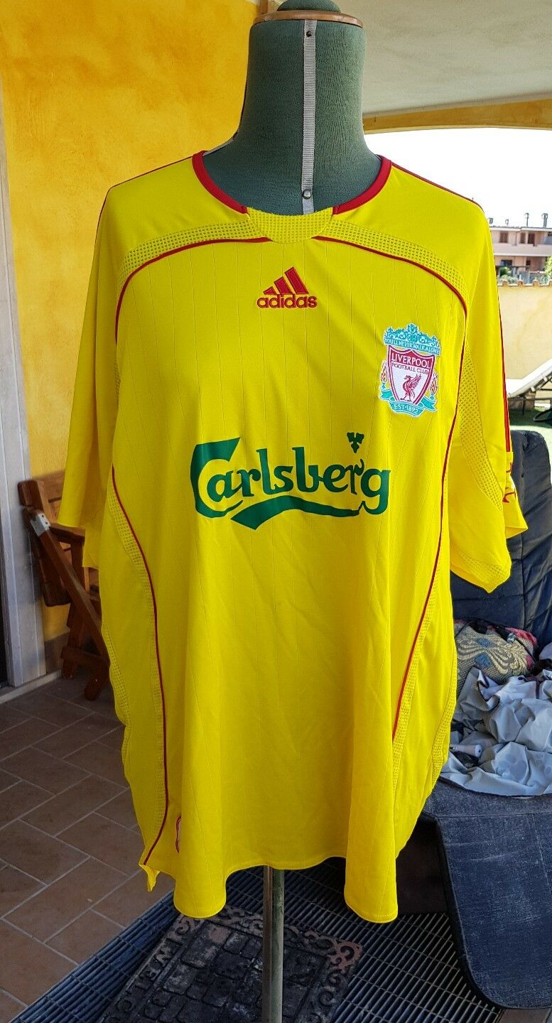 Maglia Shirt Liverpool 2006 Adidad Size Xl no match worn  issued