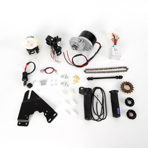 "24V 250W Electric Bike Conversion Kit Motor Controller f 22-28/"" Common Bike"