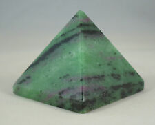 "1.4"" Tall RUBY IN ZOISITE PYRAMID - INDIA"
