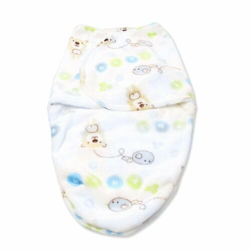 0-6M Newborn Baby Boy Girl Infant Swaddle Wrap Swaddling Blanket Sleeping Bag