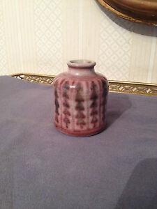 Ceramique-Danoise-Petit-vase-XX-L-Hjorth