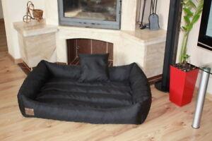 Hundebett mit Kissen Hundekorb Hundesofa Katzenbett Hunde Tier Bett 120 X 80 cm