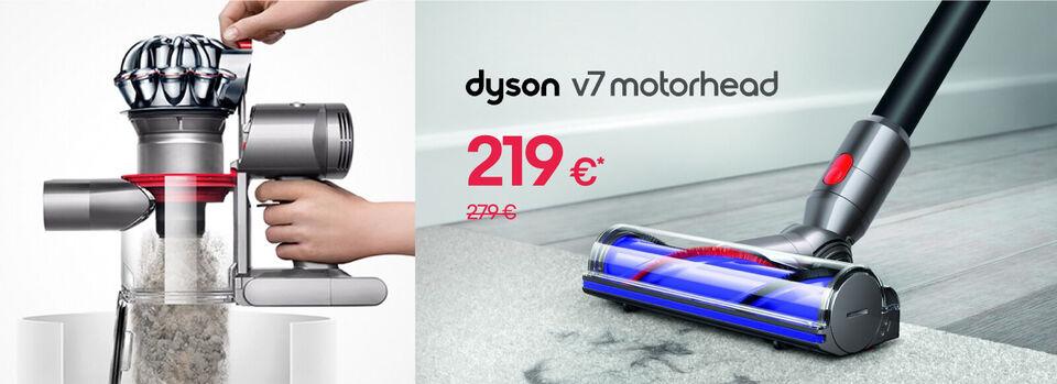 Prenez de l'avance - Dyson V7 Motorhead™