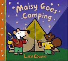 LUCY COUSINS ___ MAISY GOES CAMPING ___ BRAND NEW ____ FREEPOST UK