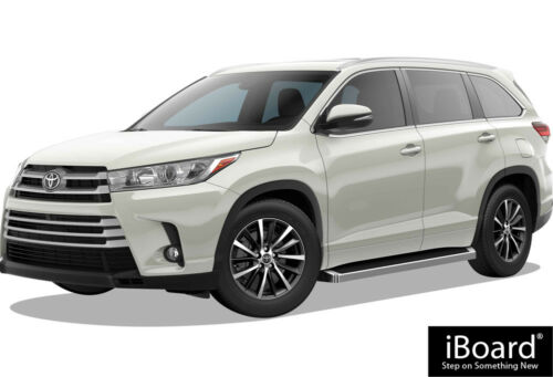 """Premium 6/"""" iBoard Side Steps Fit 14-19 Toyota Highlander"""