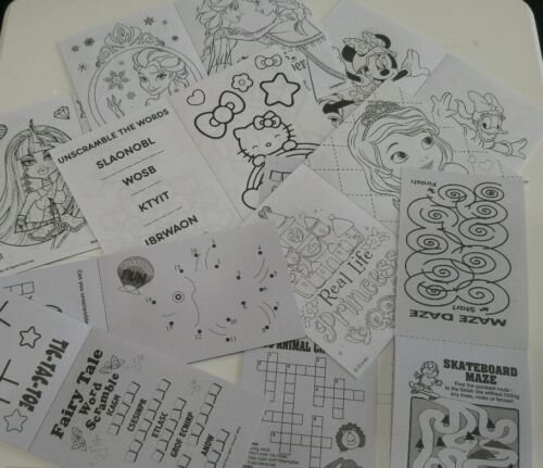 """Coloring /& Activity Book Valentine/'s Day Themed Set fits 18/"""" American Girl Dolls"""