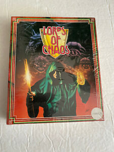 Lord-of-Chaos-RARE-SEALED-FEDER-Vintage-Dungeons-amp-Dragons-Computerspiel
