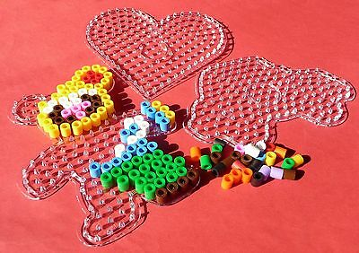 Basteln & Kreativität 3-stÜck Stiftplatten Bügelperlenplatten Für Xl Bügelperlen Mit ø 9mm 86-19 Bügelbilder