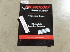 MERCURY 496cid/8.1L Gas Engine Diagnostic Guide Manual Copyright 2000